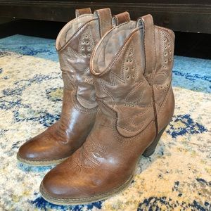 Very Volatile western ankle booties